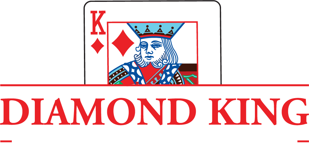 Diamond King Logo Full Light